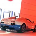 Bugatti Veyron Grand Sport Vitesse in der Heckansicht