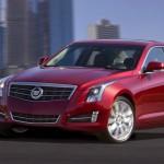 Roter Cadillac ATS 2012/2013