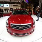 Die Frontpartie des neuen Cadillac ATS