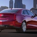 Der neue Cadillac ATS in der Heckansicht