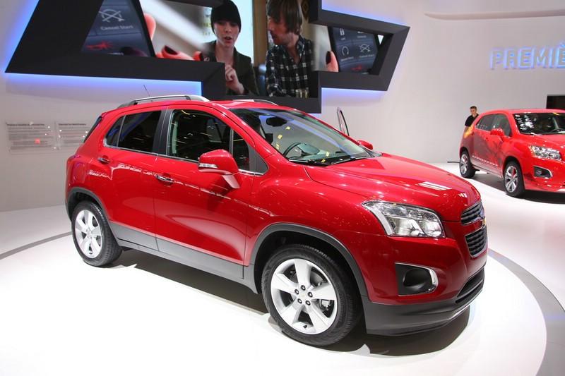 Chevrolet Trax auf der Paris Motor Show 2012