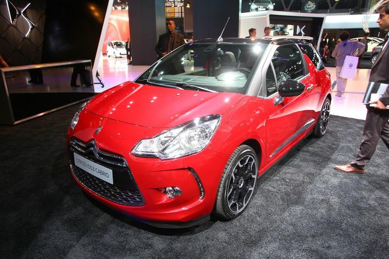 Citroen DS3 Cabriolet auf der Pariser Automesse 2012