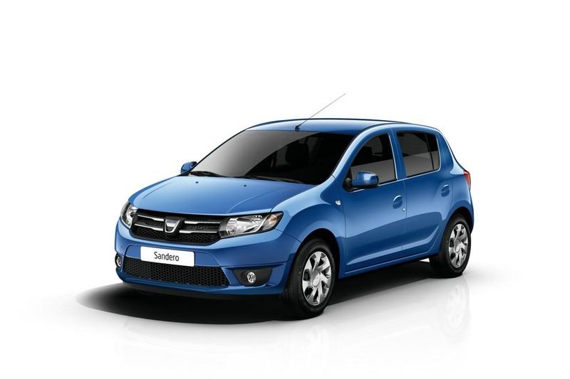 Die zweite Generation des Dacia Sandero in der Frontansicht