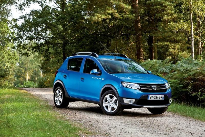 Der neue Dacia Sandero Stepway (Standaufnahme, 2013))