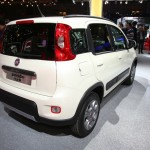 Fiat Panda Natural Power in Weiss auf der Paris Motor Show 2012