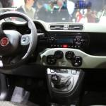 Der Innenraum des Fiat Panda Natural Power 2013