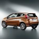Der neue Ford Fiesta Heckansicht