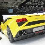 Lamborghini Gallardo LP 560-4 in Gelb auf dem Pariser Autosalon 2012