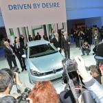 Volkswagen Golf Blue Motion auf der auf der Paris Motor Show 2012