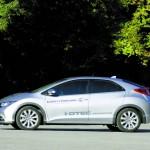 Honda Civic 1.6 i-DTEC in der Seitenansicht