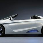 Honda-Elektroauto EV-STER Concept in der Seitenansicht