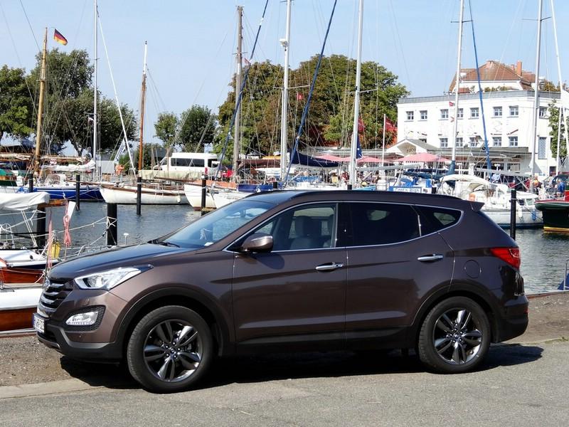 2013 Hyundai Santa Fe (DM) Exterieur