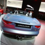 Die Heckpartie des Jaguar F-Type