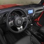 Das Cockpit des Jeep-Editionsmodells Wrangler Moab