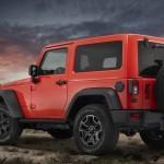 Der neue Jeep Wrangler Moab in der Seiten- Heckansicht