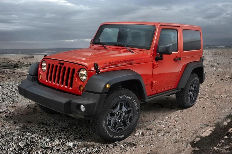 Jeep Wrangler als Sondermodell Moab