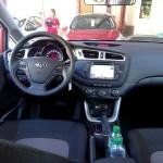 Das Cockpit des Kia Ceed Sportswagon 2012