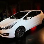 Der neue Kia Pro Cee'd feiert in Paris Weltpremiere