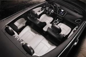 Der Innenraum des neuen Lancia Flavia