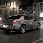 der aktuelle Lancia Thema in der Heckansicht
