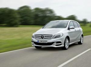 Mercedes-Benz B 200 Natural Gas Drive in der Frontansicht