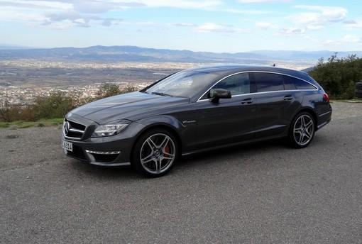 Der neue Mercedes-Benz CLS 63 AMG Shooting Brake mit 557 PS