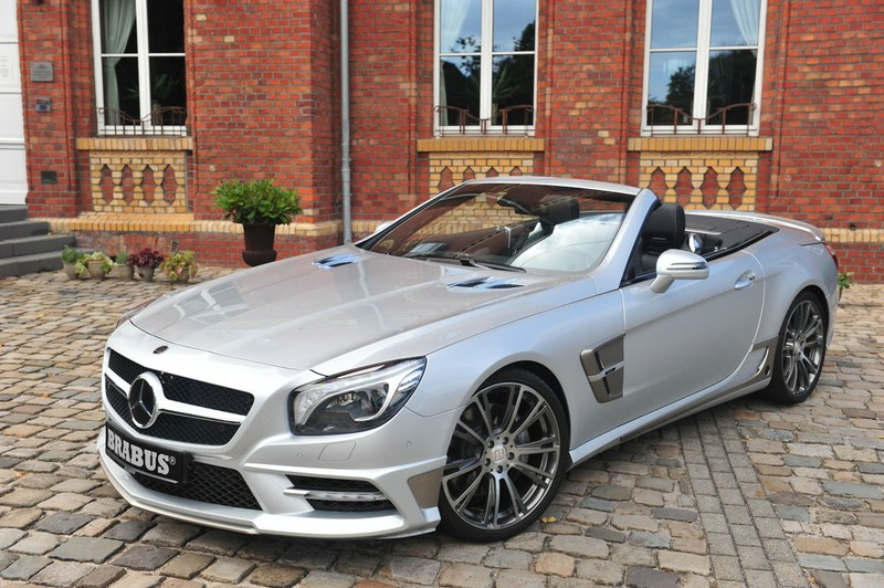 Mercedes-Benz SL Brabus in Silber