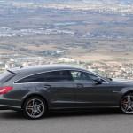 Mercedes CLS 63 AMG Shooting Brake in der Seitenansicht