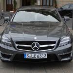 Die Frontpartie des Mercedes CLS 63 AMG Shooting Brake
