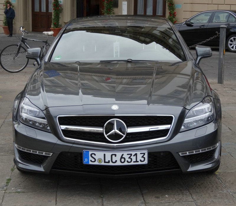 Die Frontpartie des Mercedes CLS 63 AMG Shooting Brake