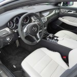 Das Interieur des Mercedes CLS 63 AMG Shooting Brake