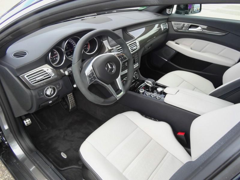 Das Interieur des Mercedes CLS 63 AMG Shooting Brake