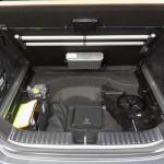 Der Kofferraum des Mercedes CLS 63 AMG Shooting Brake
