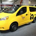 Nissan NV200 Yellow Cab auf der Nutzfahrzeugmesse IAA 2012