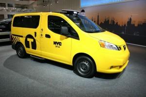Nissan NV200 Yellow Cab auf der IAA Nutzfahrzeuge 2012