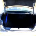 Der Kofferraum der neuen Opel Astra Limousine