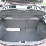 Der Kofferraum des Peugeot 208