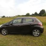Der neue Peugeot 208 in der Seitenansicht