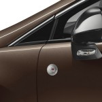 Der Außenspiegel des Peugeot 3008 Napapijri