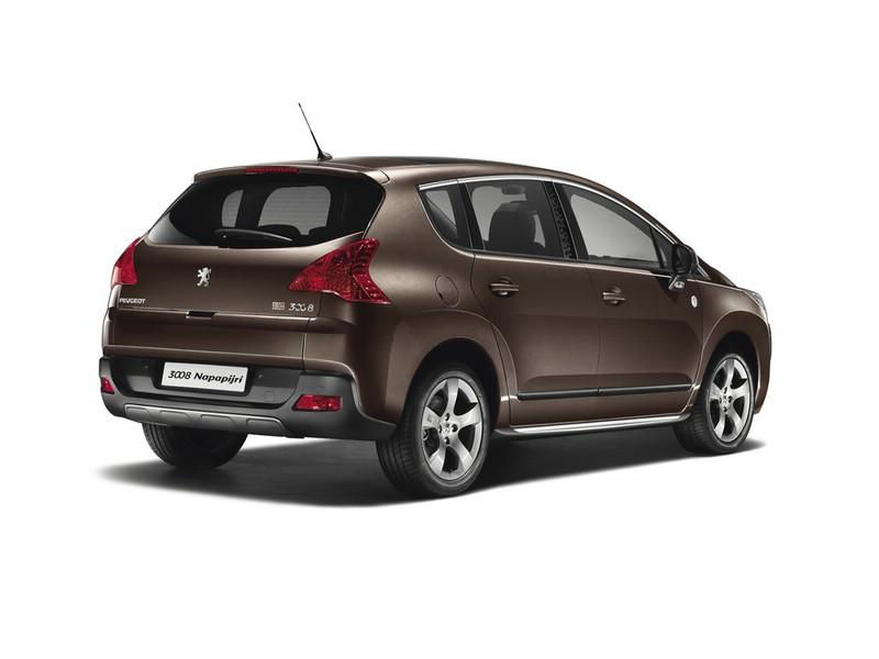 2013 Peugeot 3008 Napapijri in der Heckansicht