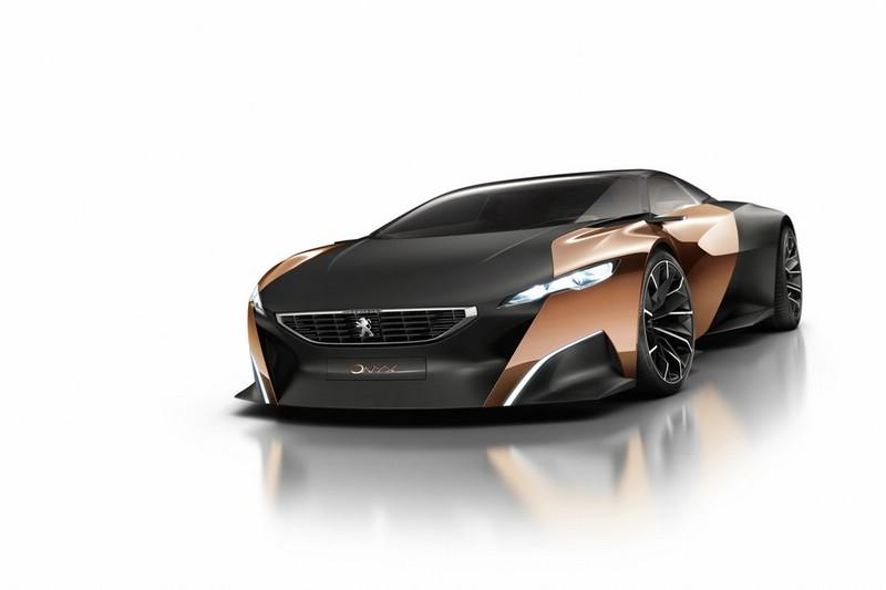 Der Peugeot Onyx wird in Paris zu sehen sein