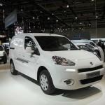 Neuer Peugeot Partner Electric in Hannover bei der Präsentation