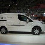 Peugeot-Elektrotransporter Partner Electric auf der Nutzfahrzeugmesse in Hannover