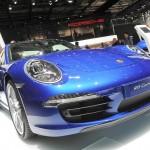 Porsche Carrera 4 2013 auf der Paris Motor Show