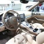 Der Innenraum des Porsche Cayenne S Diesel