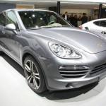 Porsche Cayenne S Diesel auf dem Pariser Autosalon 2012