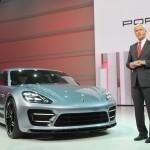 Porsche Panamera Sport Turismo auf der Paris Motor Show 2012