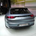 Die Heckansicht des Porsche Panamera Sport Turismo