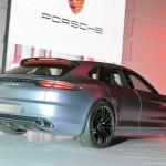 Porsche Panamera Sport Turismo auf der Paris-Messe 2012