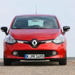 Die Frontpartie des Renault Cliio 2012